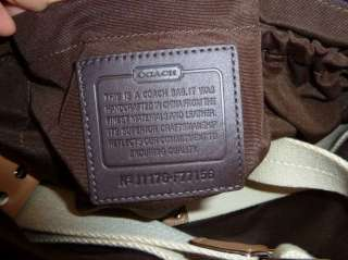 NWT COACH SIGNATURE MULTI FUNCTIONAL TOTE LAPTOP BAG DIAPER BAG X