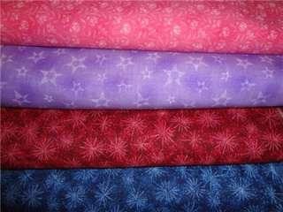 Star 4 Yard Bundle 100% Quilt Cotton Fabric
