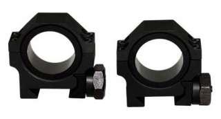 Heavy Duty Low Profile 30mm Weaver Scope Rings 4 1 Tube