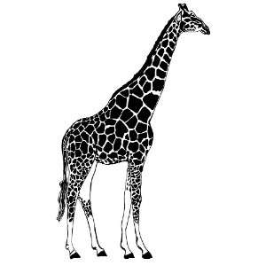 Giraffe Large 7 ft. Vinyl Wall Art Decal