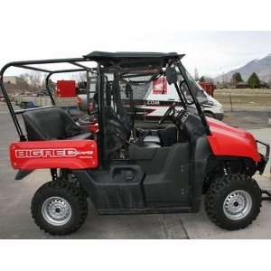 Big Red Rear Seat and Roll Cage Kit . Extra Wide Bench Seat. UTV101H