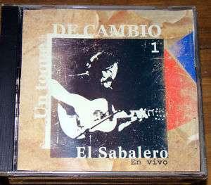 EL SABALERO EN VIVO UN TOQUE Jose Carbajal URUGUAY CD