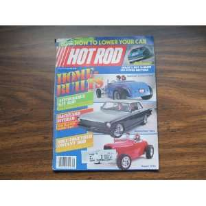 com Hot Rod Magazine June 1985 Home Builts Hot Rod Magazine Books