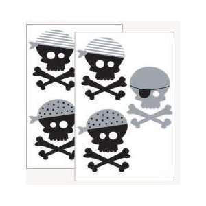 Forwalls Black Pirate Removable Wall Decal Stickers Baby
