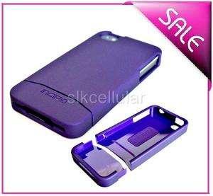iPHONE 4 4G OEM INCIPIO PURPLE EDGE HARD CASE COVER