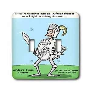 Rich Diesslins Funny Society Cartoons   Knight In Shining Armour Meats