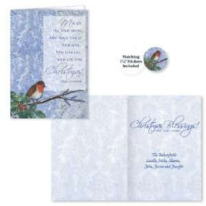 Winter Songbird Christmas Card Set/20 Health & Personal