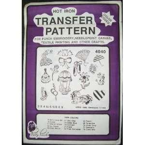 Hot Iron Transfer Pattern #4040 Summer Fantasy Symbols