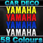 2x Yamaha R6 R 6 Belly Pan Decal Stickers   12 Wide   Choose From 58