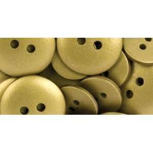 American Crafts Elements Buttons, Gold Arts, Crafts