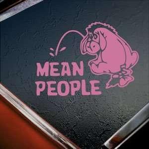 EEYORE Pink Decal DONKEY DISNEY POOH WINNIE Car Pink