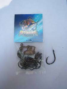 25 Size 5/0 4x Strong Offset Circle Hooks