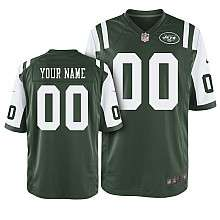Nike New York Jets Youth Customzied Game Team Color Jersey
