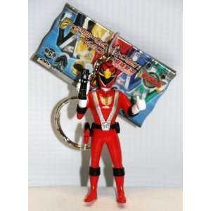 Power Rangers RPM Figure With Keychain Red   Banpresto