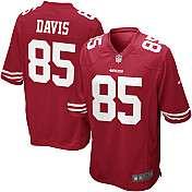 Mens Nike San Francisco 49ers Vernon Davis Game Team Color Jersey