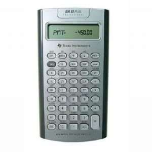 TI BA II Plus Pro Calculator Electronics