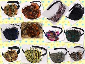 ChicCelebrity Feather Headband Hair Accessories J0638