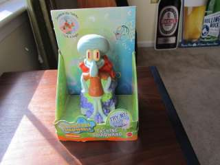Nickelodeon Spongebob Squarepants Talking Squidward Doll/Toy NIB