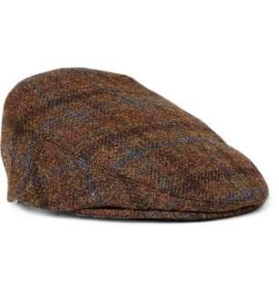 Accessories  Hats  Flat cap  Harris Tweed Wool Flat Cap