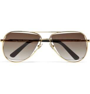 Maison Martin Margiela Metal Frame Aviator Sunglasses  MR PORTER