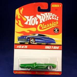 1963 T BIRD (GREEN) 2004 Hot Wheels Classics 164 Scale SERIES 1 Die