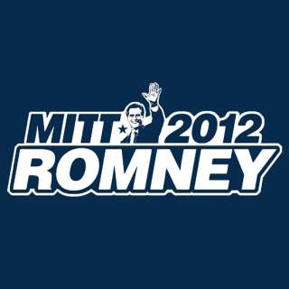 MITT ROMNEY 2012 republican campaign conservative SCREEN PRINTED Tees