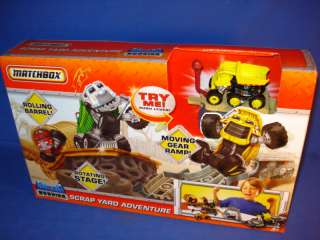 MATCHBOX SCRAP YARD ADVENTURE BIG RIG BUDDIES PLAYSET