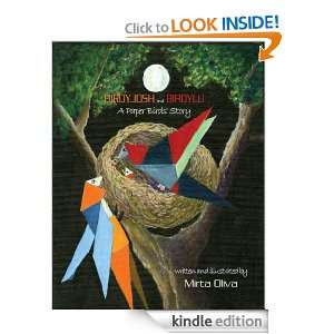 BIRDYJOSH and BIRDYLU a Paper Birds Story Mirta Oliva
