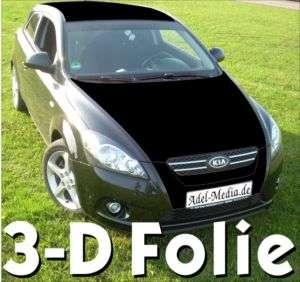 schwarz matt • Autofolie klebe Folie statt Lack Car