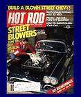 UNREAD,HOT ROD MAY 1979,FORD 289 MUSTANG BLUEPRINT,BLOWN CHEVY