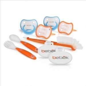 Bebek 42321BS Pacifiers Set for New Born Boys Baby