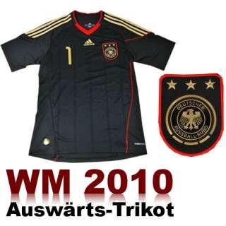 Adidas DFB Deutschland Trikot Away Schwarz WM 2010