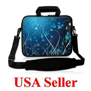 15.6 Neoprene Laptop Bag Case Sleeve w. Pocket Handle & Carrying
