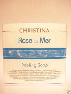 Christina   Rose De Mer Face Peeling Soap +Gift Serum /Lightens
