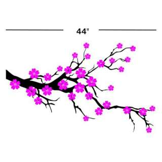 CHERRY BLOSSOM VINYL DECAL STICKER WALL ART TREE MURAL ROOM DECOR