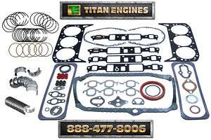 Chevy Truck 262 4.3 99 02 Engine ReMAin Kit Blazer