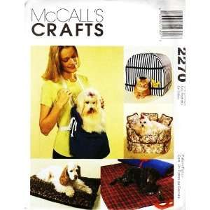PATTERN, DOG / CAT BED, HOUSE, SOFA. CARRIER, PILLOW