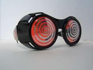 Huge Rave Hypnotic Goggles Wear Clothing Cyber Goth DJ |