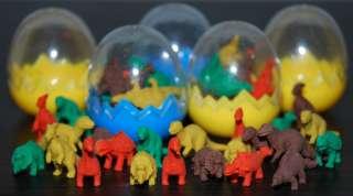 shape rubber erasers fun kids party bag filler novelty gift