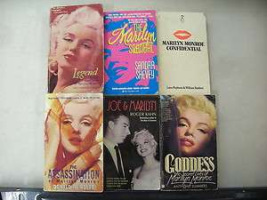 MARILYN MONROE SCANDAL ASSASSINATION CONFIDENTIAL JOE GODDESS LEGEND