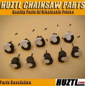 5X Gas Fuel Caps 5X Oil Filler Caps Fit STIHL Chainsaw
