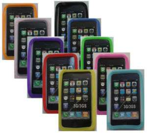 Wholesale Lot 25 Silicon Case Cover Apple iPhone 3G 3GS
