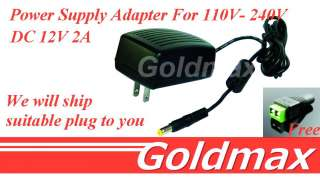 Switching Power Supply Adapter For led lamp 110V  240V AC 2.1mm