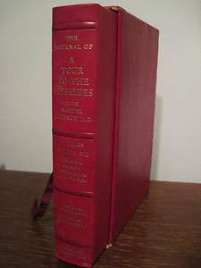 LIMITED Edition TOUR TO HEBRIDES Samuel Johnson BOSWELL