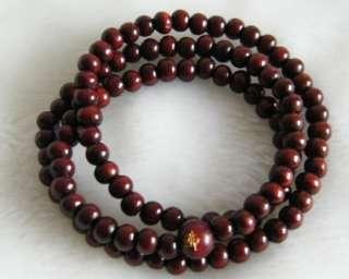 Tibetan 108 Natural Sandalwood Prayer Beads Mala AAA
