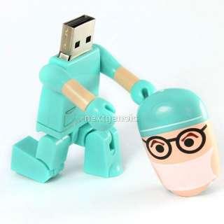 8GB 8G 3D Surgeon Doctor DR. Dentist USB 2.0 Flash Memory Pen Drive