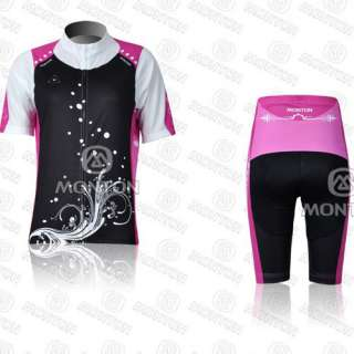 2012 Cycling Bicycle Comfortable Outdoor Jersey + Shorts Size S   XL