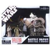 Star Wars Battle Pack Bantha W Tusken Raiders New MISB