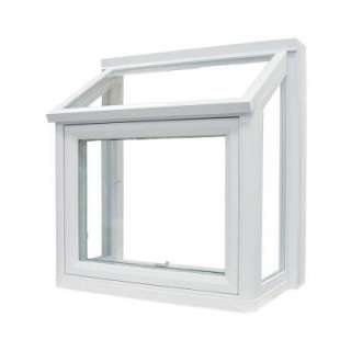 Window Vinyl Windows, 36 in. x 36 in., White, with Insulated Glass