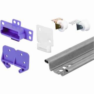Prime Line 22 1/2 in. Rolled Edge Drawer Track Kit R 7125 at The Home